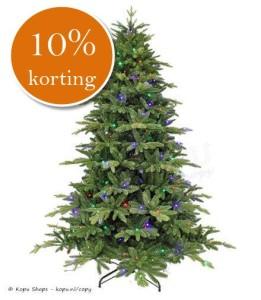 10 procent korting kunstkerstbomen 2015