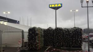 Kerstboom voor 1 piek IKEA