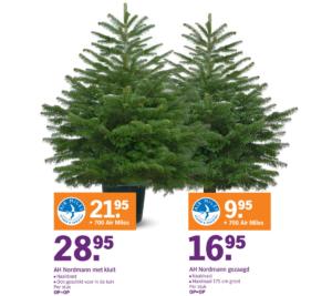 albert heijn Nordmann kerstboom 2016