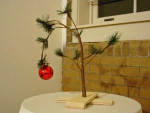 Kale kerstboom