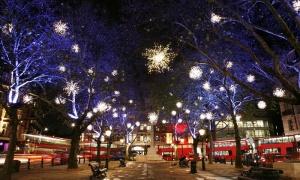 Groupon Kerstreis London