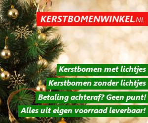 Kerstbomenwinkel 10 euro korting