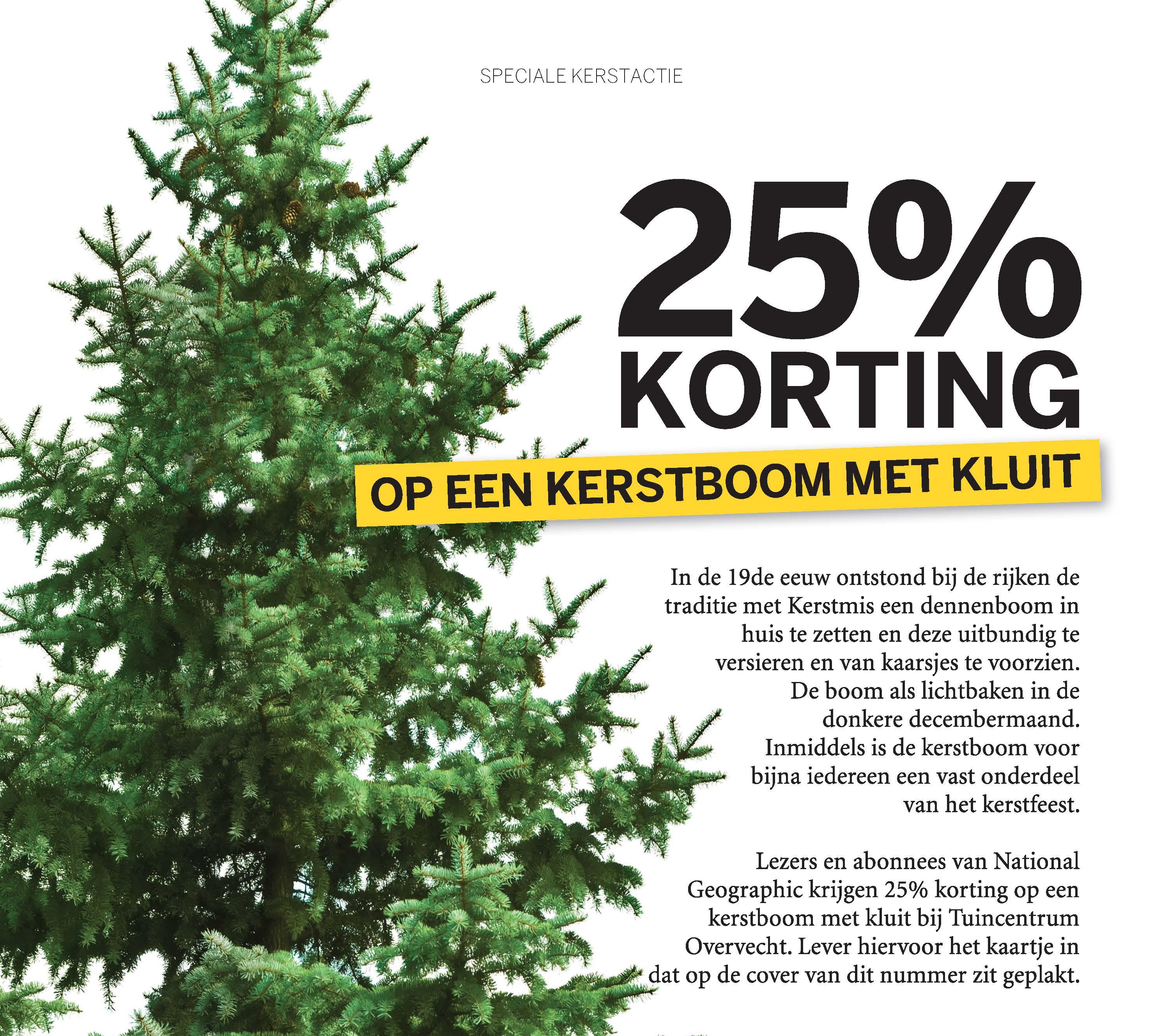 Kerstbomen in alle soorten en maten bij Tuincentrum Overvecht ...