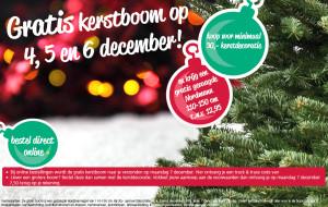 Ranzijn gratis Nordmann kerstboom 2015