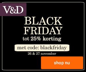 V&D 25 procent korting