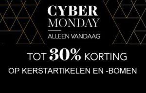 cybermonday wehkamp 30 procent korting 2016