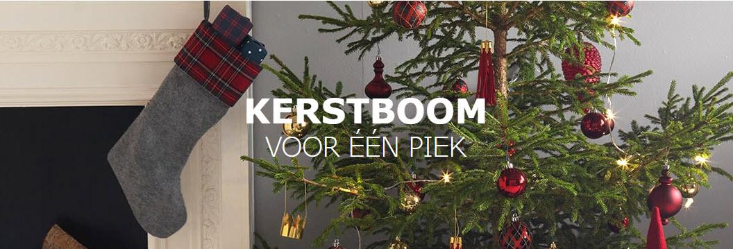Uitzonderlijk Nordmann kerstboom voor één euro bij IKEA - Kerstboomprijzen.nl SH08