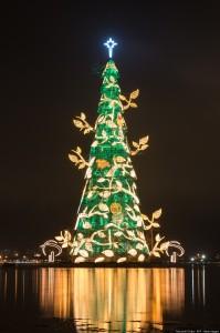 Kerstboom Rio de Janeiro