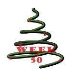 kerstboom - week 50