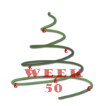kerstboom - week 50