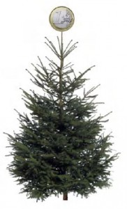 kerstboom 1 piek