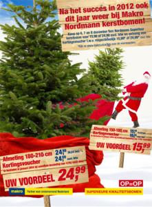 Kerstbomen actie Makro