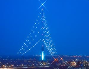 Grootste Kerstboom ter Wereld in Lopik