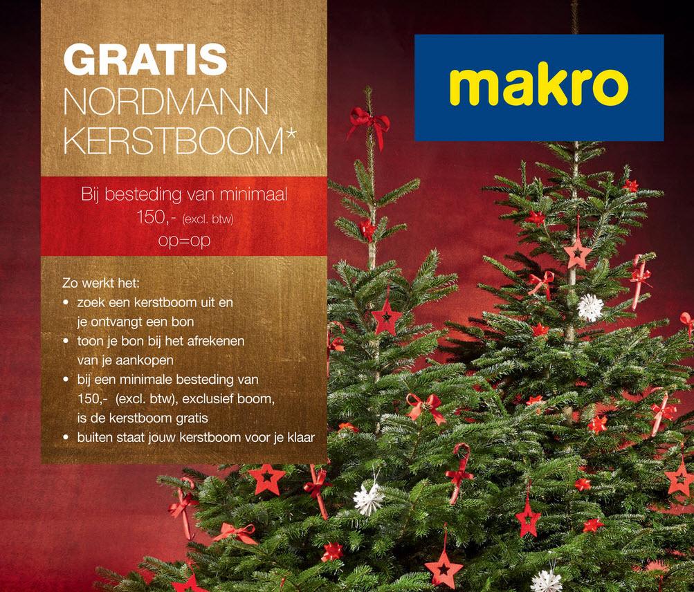 Kerstboomactie bij Makro - Kerstboomprijzen.nl