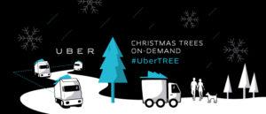 uber kerstboom op bestelling Praxis 2016